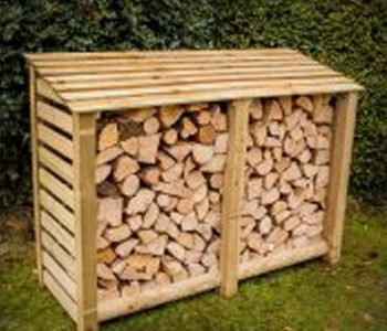5ft Log Store by Berkshire Log Stores
