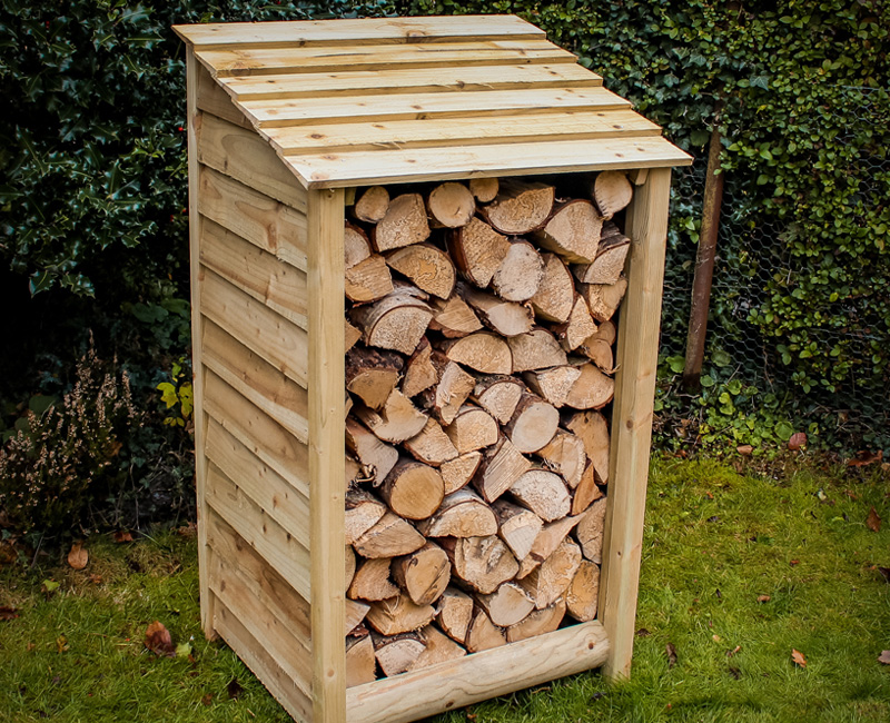 Small Log Store by Berkshire Log Stores