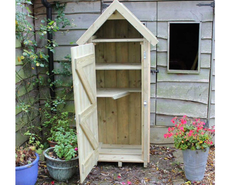 Buy Small Wooden Outdoor Stores Sentry Box Garden Store By Berkshire Log  Stores ...