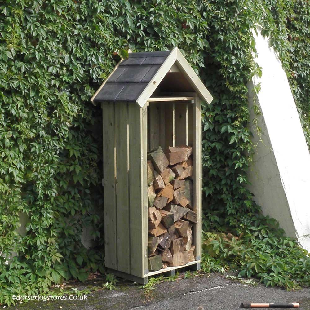 sentry-planed redwood-log -store